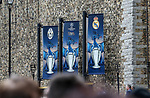 A general view of the branding outside the castle during the Champions League Final match at the National Stadium, Cardiff. Picture date: June 3rd, 2017. Pic credit should read: David Klein/Sportimage