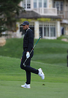 Tony Finau (USA) during the first round of the AT&amp;T Pro-Am, Pebble Beach Golf Links, Monterey, California, USA. 07/02/2019<br /> Picture: Golffile | Phil Inglis<br /> <br /> <br /> All photo usage must carry mandatory copyright credit (&copy; Golffile | Phil Inglis)