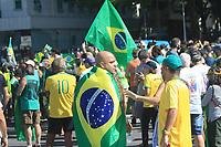 31/05/2020 - BOLSONARISTAS PROTESTAM EM COPACABANA