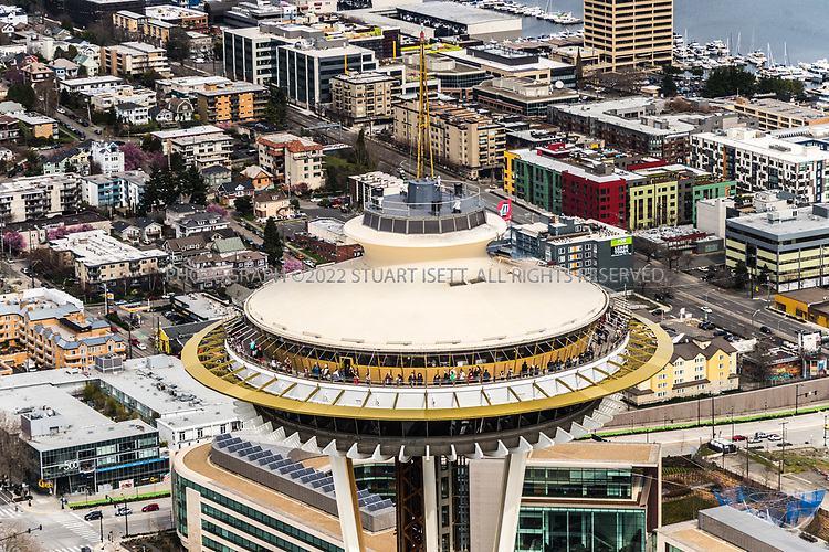 Seattle Space Needle<br /> <br /> Photograph by Stuart Isett. &copy;2017 Stuart Isett. All rights reserved.
