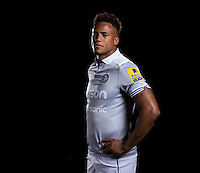 Anthony Watson poses for a portrait at a Bath Rugby photocall. Bath Rugby Media Day on August 24, 2016 at Farleigh House in Bath, England. Photo by: Rogan Thomson / JMP / Onside Images
