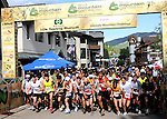 June 7, 2009:  Elite mountain runners at the front of the starting line during the Teva Mountain Games Spring Runoff 10K, Vail, Colorado.J
