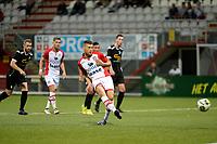 EMMEN - Voetbal, FC Emmen - Quick 20,Jens Vesting,  voorbereiding seizoen 2017-2018, 20-07-2017 /e10 scoort 1-0 uit strafschop