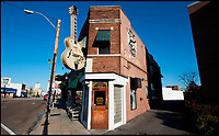 "BNPS.co.uk (01202 558833)<br /> Pic PhilYeomans/BNPS<br /> <br /> Sun Records in Memphis - Where Elvis recorded Thats All Right on a hot June night in 1954.<br /> <br />  Thats AlrightIn black and white - the winners and losers from the birth of Rock n Roll.<br /> <br /> Never-seen-before letters charting the struggles a record producer had in launching an unknown Elvis Presley into the music world have emerged for sale for £50,000.<br /> <br /> The fascinating archive reveals calamitous calls made by record executives and DJs who rejected Memphis music impresario Sam Phillips' efforts to get Elvis' name out there.<br /> <br /> Mr Phillips, boss of the fledgling star's first record label Sun Records, wrote: ""Sun has released a new artist who is creating a tremendous excitement...his name is Elvis Presley.""<br /> <br /> The archive of 47 letters includes several rejection letters and is being sold by Henry Aldridge and Son of Devizes, Wilts."