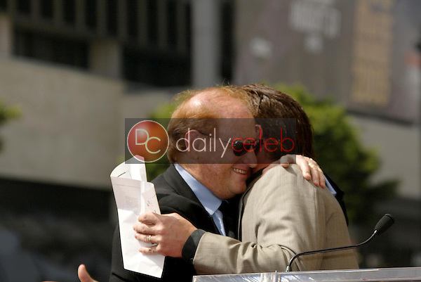 Mike Medavoy with Sean Penn<br />