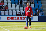 England goalkeeper Aaron Ramsdale during the U19's International match at the New Buck's Head Stadium, Telford. Picture date: 1st September 2016. Picture Malcolm Couzens/Sportimage
