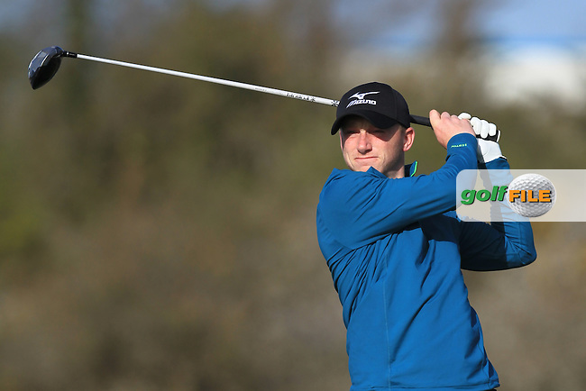 E. O'Donovan (Craddockstown) on the 4th tee during Round 1 of the Munster Stroke Play Championship at Cork Golf Club on Saturday 30th April 2016.<br /> Picture:  Thos Caffrey / www.golffile.ie