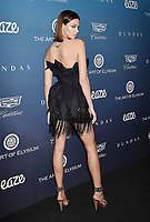 LOS ANGELES, CA - JANUARY 05: Hailey Clauson attends Michael Muller's HEAVEN, presented by The Art of Elysium at a private venue on January 5, 2019 in Los Angeles, California.<br /> CAP/ROT/TM<br /> ©TM/ROT/Capital Pictures