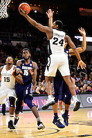 Wednesday, January 4, 2016: Providence Friars guard Kyron Cartwright (24) takes the ball to the basket during the NCAA basketball game between the Georgetown Hoyas and the Providence Friars held at the Dunkin Donuts Center, in Providence, Rhode Island. Providence defeats Georgetown 76-70 in regulation time. Eric Canha/CSM