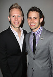 Justin Paul & Benj Pasek attending the 2013 Tony Awards Meet The Nominees Junket  at the Millennium Broadway Hotel in New York on 5/1/2013...