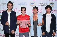 BEVERLY HILLS, CA, USA - AUGUST 09: Janoskians at the DigiTour and Candie's Official Teen Choice Awards 2014 Pre-Party held at The Gibson Showroom on August 9, 2014 in Beverly Hills, California, United States. (Photo by Xavier Collin/Celebrity Monitor)