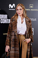 Paloma Bloyd attends to 'Morir para contar' film premiere during the Madrid Premiere Week at Callao City Lights cinema in Madrid, Spain. November 13, 2018. (ALTERPHOTOS/A. Perez Meca) /NortePhoto.com