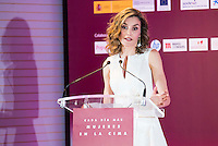 Queen Letizia of Spain during the 25th edition of FEDEPE Awards at Jardines de Cecilio Rodriguez in Madrid, Spain. July 26, 2016. (ALTERPHOTOS/BorjaB.Hojas)