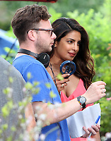 NEW YORK, NY July 11, 2017  Todd Strauss-Schulson director, Priyanka Chopra, shooting on location for Newline Cinema film  Isn't It Romantic in Central Park New York July 11, 2017. Credit:RW/MediaPunch