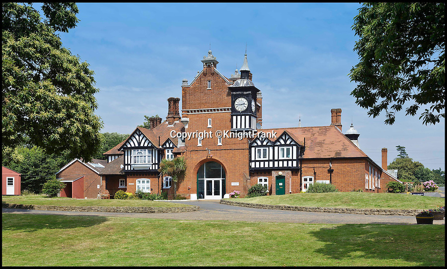 BNPS.co.uk (01202 558833)<br /> Pic: KnightFrank/BNPS<br /> <br /> The 144 acre site includes many out buildings.<br /> <br /> Making waves - Seaside Suffolk mansion that was in the frontline of the top secret battle to defeat the luftwaffe during WW2 is on the market.<br /> <br /> A stunning Grade II* listed coastal manor house which was Britain's first radar station and survived multiple Luftwaffe attacks is now up for grabs.<br /> <br /> Bawdsey Manor is a home fit for royalty - a grand 144-acre estate on the Suffolk coast with a mansion that looks like the Queen's much-loved Sandringham House nearby.<br /> <br /> The impressive property, which also comes with quayside cottages and even has its own beach access, is on the market with estate agents Knight Frank with a guide price of £5million.