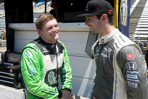 16-20 May, 2016, Indianapolis, Indiana, USA<br /> Alexander Rossi, Conor Daly<br /> ©2016, Scott R LePage <br /> LAT Photo USA