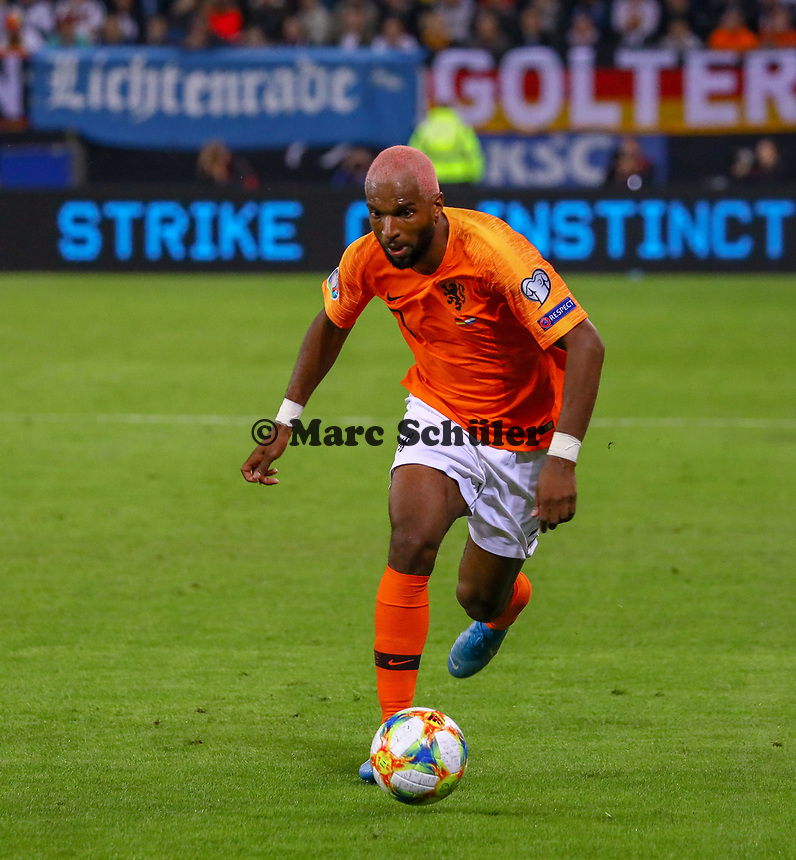 Ryan Babel (Niederlande) - 06.09.2019: Deutschland vs. Niederlande, Volksparkstadion Hamburg, EM-Qualifikation DISCLAIMER: DFB regulations prohibit any use of photographs as image sequences and/or quasi-video.