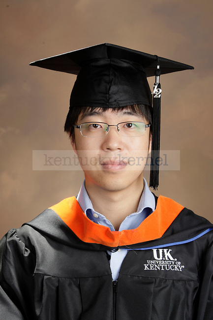 Liu, Jiawei photographed during the October, 2012, Grad Salute in Lexington, Ky.