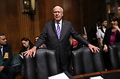 WASHINGTON, DC - SEPTEMBER 27:  Senate Judiciary Committee member Sen. Patrick Leahy (D-VT) arrives in the hearing room where Christine Blasey Ford will testify in the Dirksen Senate Office Building on Capitol Hill September 27, 2018 in Washington, DC. A professor at Palo Alto University and a research psychologist at the Stanford University School of Medicine, Ford has accused Supreme Court nominee Judge Brett Kavanaugh of sexually assaulting her during a party in 1982 when they were high school students in suburban Maryland.  (Photo by Win McNamee/Getty Images)