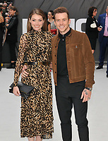 Georgia Horsley and Danny Jones at the &quot;King of Thieves&quot; world film premiere, Vue West End, Leicester Square, London, England, UK, on Wednesday 12 September 2018.<br /> CAP/CAN<br /> &copy;CAN/Capital Pictures