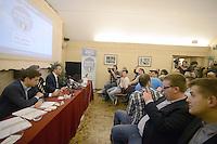 Roma, 18 Giugno 2013<br /> Hotel Nazionale<br /> Nasce &quot;L'esercito di Silvio&quot;, presentazione del movimento politico in difesa di Silvio Berlusconi fondato da Simone Furlan