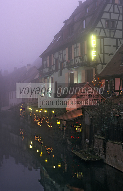 Europe/France/Alsace/68/Haut-Rhin/Colmar: Noël à Colmar - La petite Venise