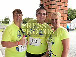 Caroline and Niamh Crawley and Bridget Halpeny who took part in the Seamie Weldon 5K Run in Ardee. Photo:Colin Bell/pressphotos.ie