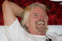 "Montreal (QC) CANADA, February 14, 2008<br /> <br /> Richard Branson in Montreal on Valentine day to convince customer to "" Fall in Love with Virgin Mobile""<br /> <br /> <br /> <br /> <br /> photo : (c)   images Distribution"
