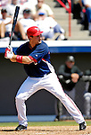 18 March 2007: Washington Nationals third baseman Ryan Zimmerman in action against the Florida Marlins at Space Coast Stadium in Viera, Florida...Mandatory Photo Credit: Ed Wolfstein Photo