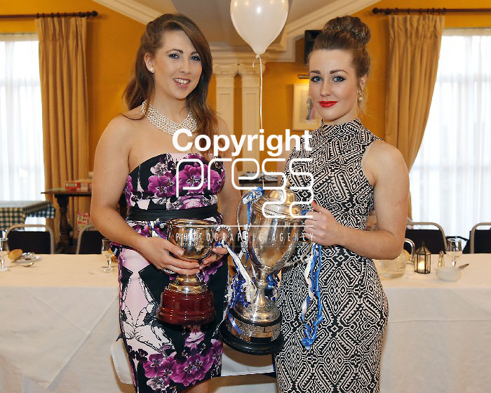06/04/2013 Sinead and Aishling O'Halloran pictured at a Camogie Pesentation Night which took place at the Magowna House Hotel, Kilmaley. Picture: Don Moloney / Press 22