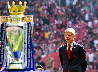 Arsenal v Chelsea FA Community Shield Arsene Wenger manager of Arsenal during the FA Community Shield match at Wembley Stadium, London<br /> Foto  Liam McAvoy/FocusImage/Imago/Insidefoto