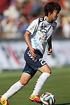 Ayaka Noguchi (INAC),<br /> JUNE 15, 2014 - Football / Soccer : 2014 Nadeshiko League, between AS ELFEN SAITAMA 1-3 INAC KOBE LEONESSA at NACK 5 Stadium Omiya, Saitama, Japan. (Photo by Jun Tsukida/AFLO SPORT)