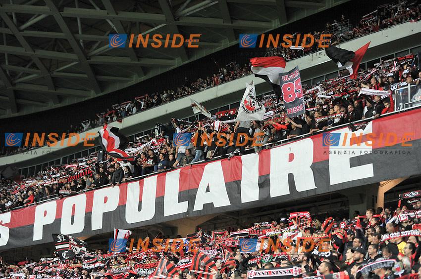 ILLUSTRATION - SUPPORTERS<br /> Nizza 30-04-2017 <br /> Nice - Paris Saint Germain Ligue 1 2016/2017  <br /> Foto Philippe LECOEUR/ Panoramic/insidefoto
