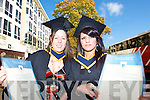 Marita Fitzgerald, Inch,.and Bushira Khalid, Tralee,.both graduated with a.Bachelor of Science at the.IT Tralee graduations at.the Brandon Hotel, Tralee.on Friday.