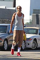 Joakim Noah in Los Angeles - EXCLUSIVE PHOTOS