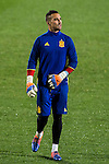 Spainsh Sergio Asenjo during the training of the spanish national football team in the city of football of Las Rozas in Madrid, Spain. November 08, 2016. (ALTERPHOTOS/Rodrigo Jimenez)