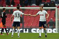 Ben Davies and Harry Kane of Tottenham Hotspur after Tottenham Hotspur vs Huddersfield Town, Premier League Football at Wembley Stadium on 3rd March 2018