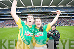 Colm O'Mahony and Alan Lynch Castlegregory  in the All Ireland Junior Club Championship at Croke park on Sunday February 14 2010...