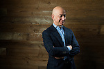 Portrait of Amazon CEO Jeff Bezos. Photo by Daniel Berman/www.bermanphotos.com