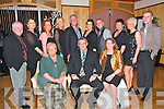 Angling Dinner : Attenddin the Ballybunion Angling Club Festival Celebration Dinner held at The Golf Hotel, Ballybunion on Saturady night last were in front Mary, Roger & Jean Martin. Back : Robbie Houlihan, Sandra Martin, Jackie Mannix, Angela Martin, Paul Enright, Nocola O'Callaghan, Brian Houlihan, Noreen Martin, Valerie Houlihan & Declan Ryan.