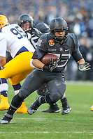 Baltimore, MD - December 10, 2016: Army Black Knights running back Darnell Woolfolk (33) runs the ball during game between Army and Navy at  M&T Bank Stadium in Baltimore, MD.   (Photo by Elliott Brown/Media Images International)