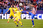 Atletico de Madrid's player Koke Resurrección and CF Rostov's player Timofei Kalachev during a match of UEFA Champions League at Vicente Calderon Stadium in Madrid. November 01, Spain. 2016. (ALTERPHOTOS/BorjaB.Hojas)