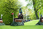 Badminton, Gloucestershire, United Kingdom, 4th May 2019, Millie Dumas riding Artistiek during the Cross Country Phase of the 2019 Mitsubishi Motors Badminton Horse Trials, Credit:Jonathan Clarke/JPC Images