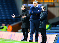 Norwich City manager Daniel Farke shouts instructions to his team from the technical area<br /> <br /> Photographer Alex Dodd/CameraSport<br /> <br /> The EFL Sky Bet Championship - Blackburn Rovers v Norwich City - Saturday 22nd December 2018 - Ewood Park - Blackburn<br /> <br /> World Copyright © 2018 CameraSport. All rights reserved. 43 Linden Ave. Countesthorpe. Leicester. England. LE8 5PG - Tel: +44 (0) 116 277 4147 - admin@camerasport.com - www.camerasport.com