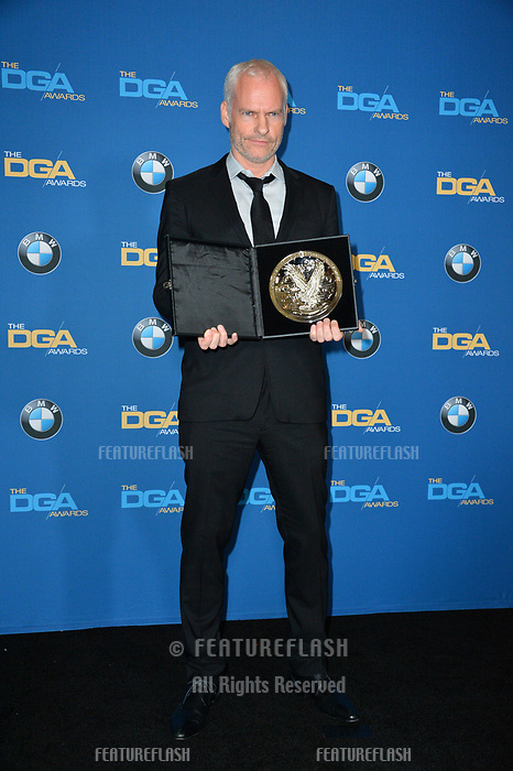 Martin McDonagh at the 70th Annual Directors Guild Awards at the Beverly Hilton Hotel, Beverly Hills, USA 03 Feb. 2018<br /> Picture: Paul Smith/Featureflash/SilverHub 0208 004 5359 sales@silverhubmedia.com