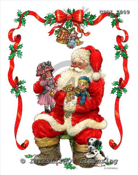 GIORDANO, CHRISTMAS SANTA, SNOWMAN, WEIHNACHTSMÄNNER, SCHNEEMÄNNER, PAPÁ NOEL, MUÑECOS DE NIEVE, paintings+++++,USGI1809,#X# stickers