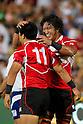 (L-R) Takehisa Usuzuki, Takashi Kikutani (JPN), AUGUST 13, 2011, Rugby : International test match between Italy 31-24 Japan at Dino Manuzzi Stadium, Cesena, Italy, (Photo by Enrico Calderoni/AFLO SPORT) [0391]