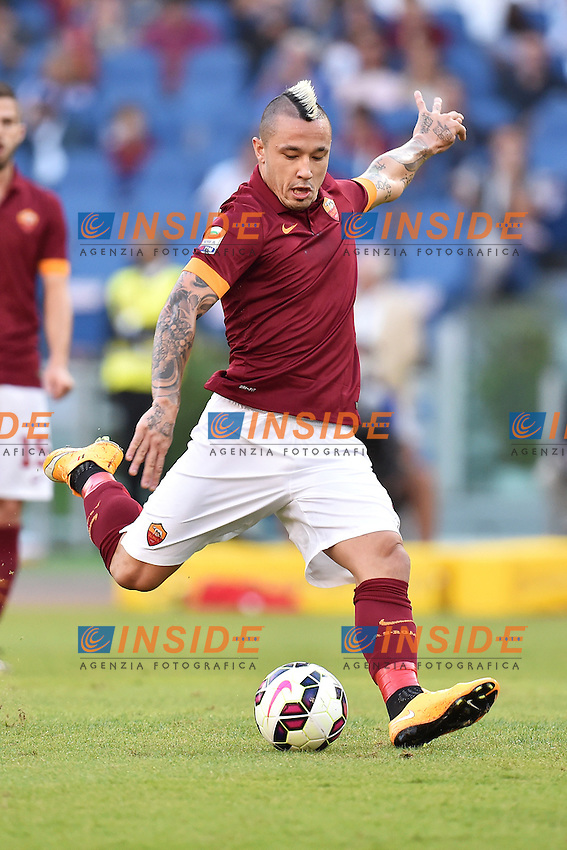 Radja Nainggolan Roma <br /> Roma 27-09-2014 Stadio Olimpico, Football Calcio Serie A AS Roma - Hellas Verona. Foto Andrea Staccioli / Insidefoto