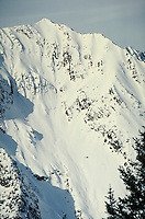 Extreme Alpine Skiing via Helicopter, Wasatch Mountains, Little Cottonwood Canyon, near Salt Lake City, Utah. Salt Lake City, UtahLittle Cottonwood Canyon.