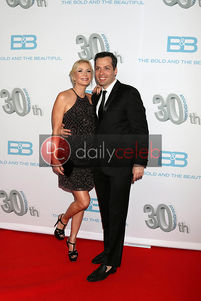 "Katherine Kelly Lang, Dominique Zoida<br /> at the ""The Bold and The Beautiful"" 30th Anniversary Party, Clifton's Downtown, Los Angeles, CA 03-18-17<br /> David Edwards/DailyCeleb.com 818-249-4998"